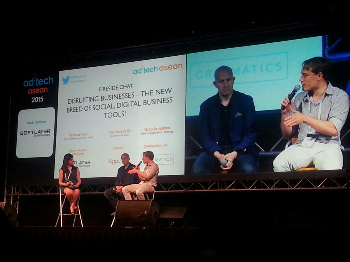 """After 3 years, #advertising Technologies would be thought Mobile First""- CEO Tim Koschella @applift #adtechasean http://t.co/nFOggdJTvJ"