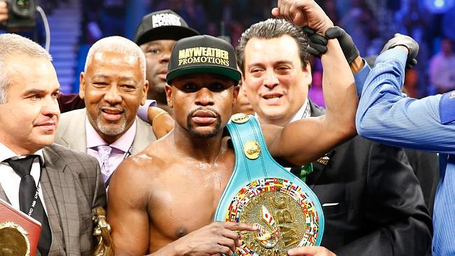 Boxe: la Wbo ha tolto il titolo a Mayweather vinto contro Pacquiao