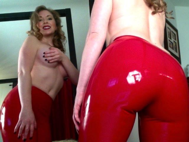 Thin nude blonde girl