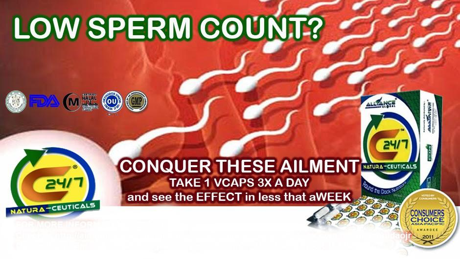Simply matchless count low solution sperm useful topic