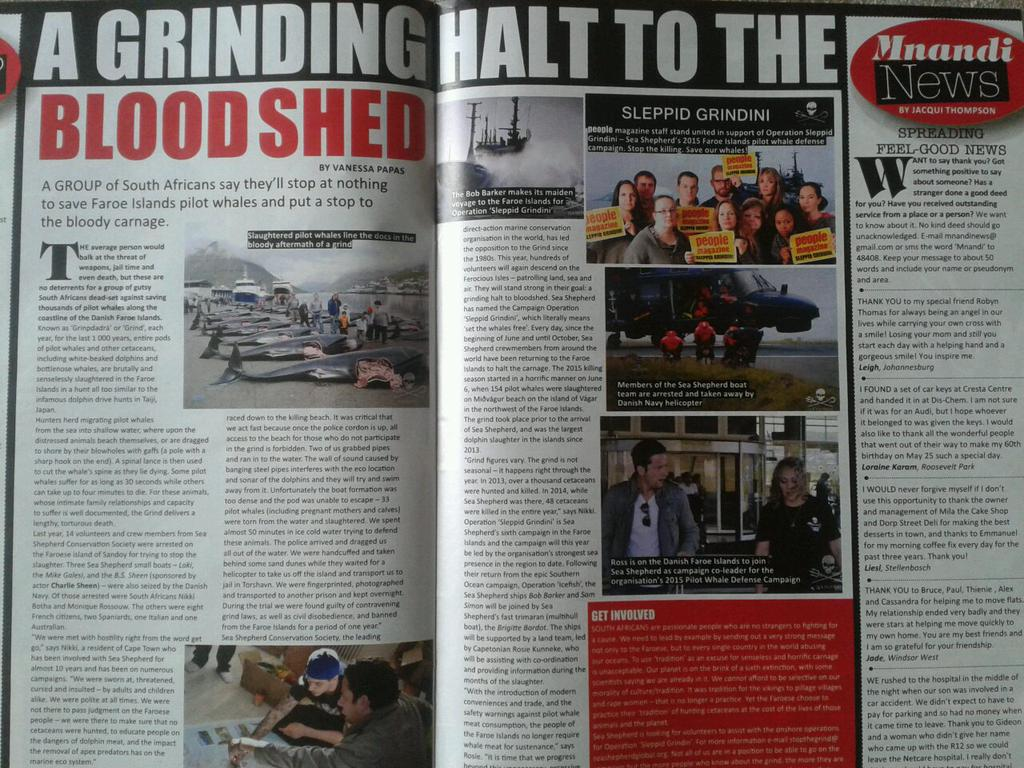 Look @maccageezer ! You're in @People_SA ! :) #FaroeIslands #opgrindini #StopTheKilling http://t.co/8sIdmGubZm