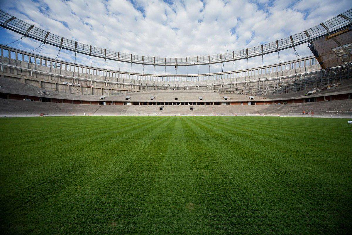 Открытка, картинки со стадионами