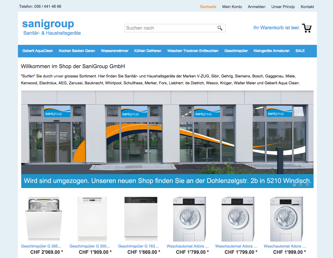 Thomas Wyss On Twitter Webshop Relaunch For Sanigroup Check Out
