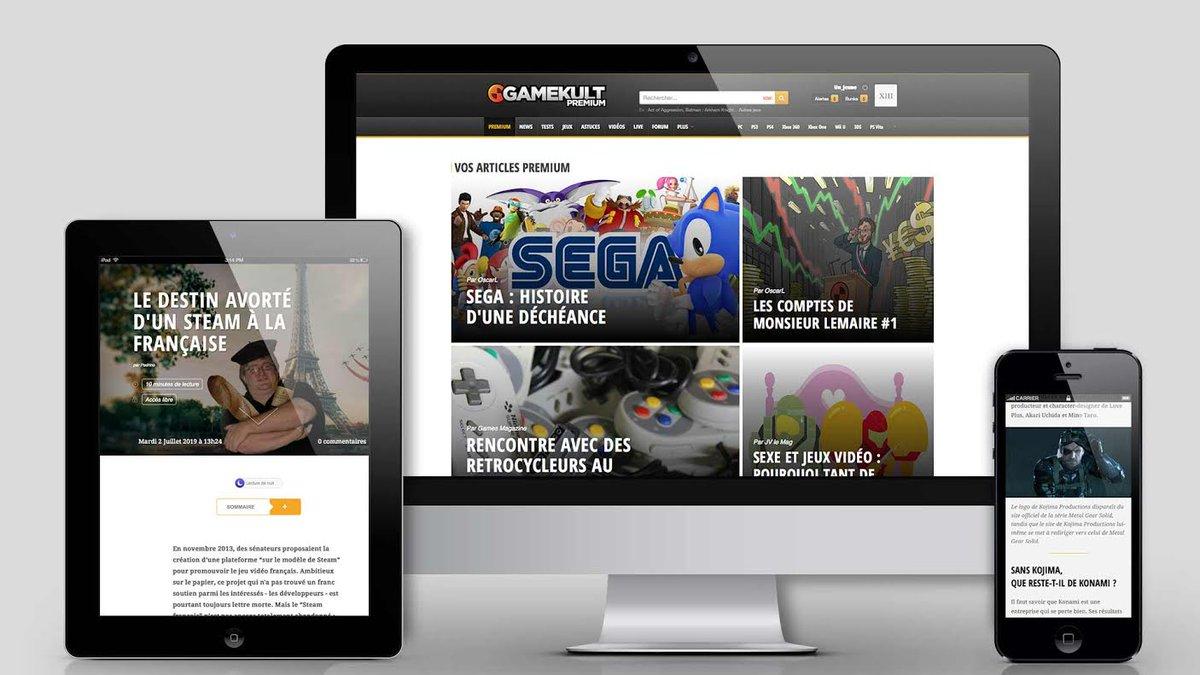 Gros tournant pour le site et relance du Premium : offrez-vous le meilleur de Gamekult. http://t.co/Wx7RJZeDKQ http://t.co/G7BrYJekWM