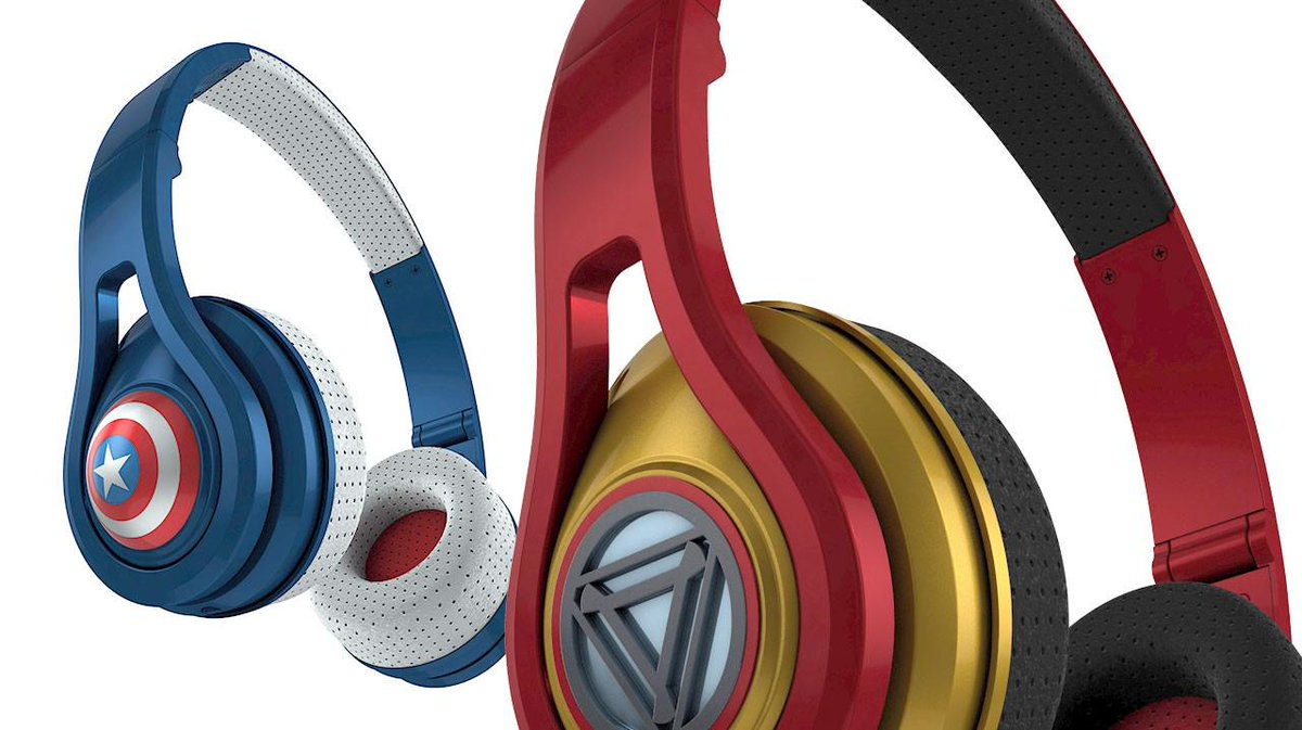 .@bamsmackpow getting amped for our @Marvel headphones. You ready? http://t.co/ktkrHmSGNZ http://t.co/WwchQg83SD
