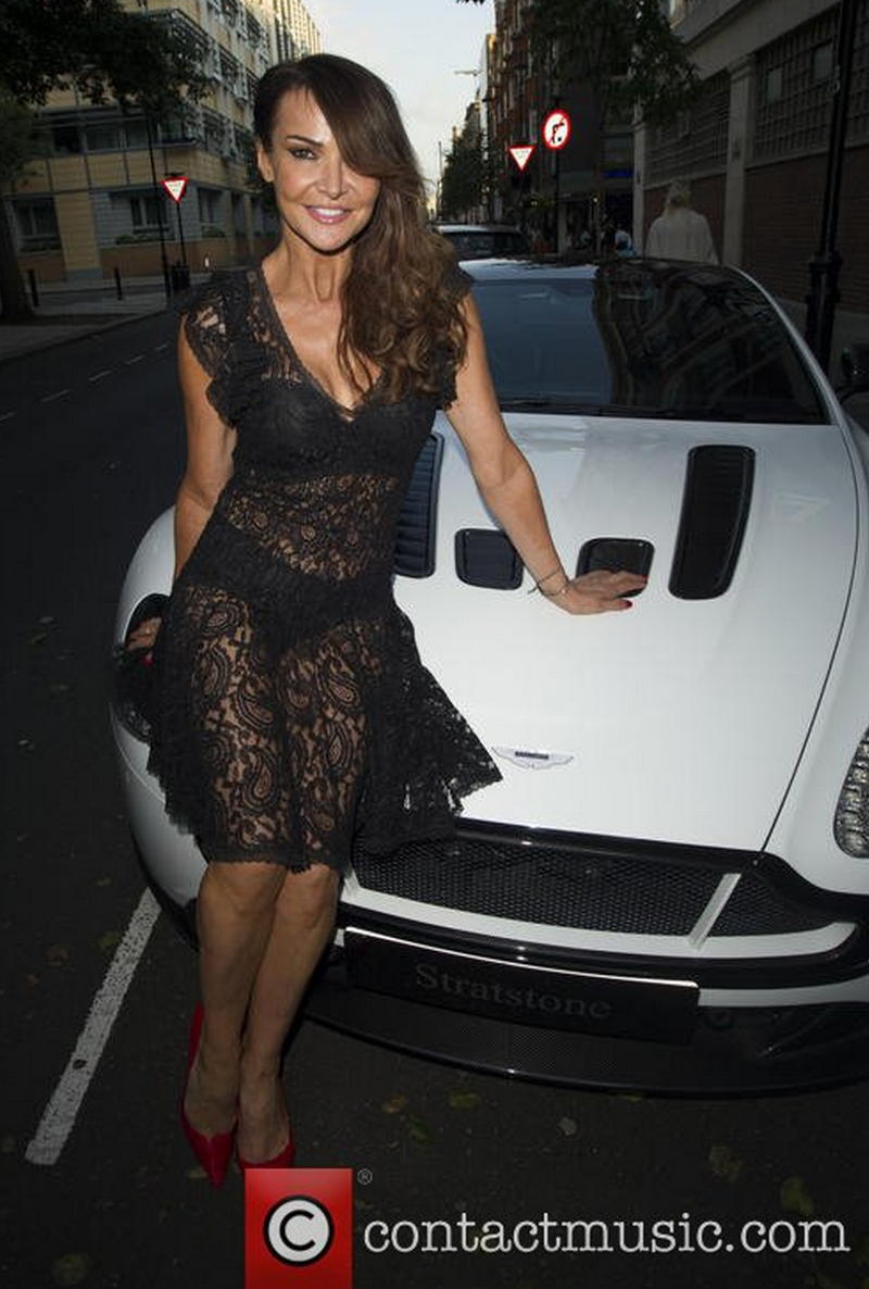 RT @MyFaceMyBody: The lovely @lizziecundy at the #ultimatebeautyguide party sitting on an Aston Martin from @strastoneuk (via @demotix) htt…