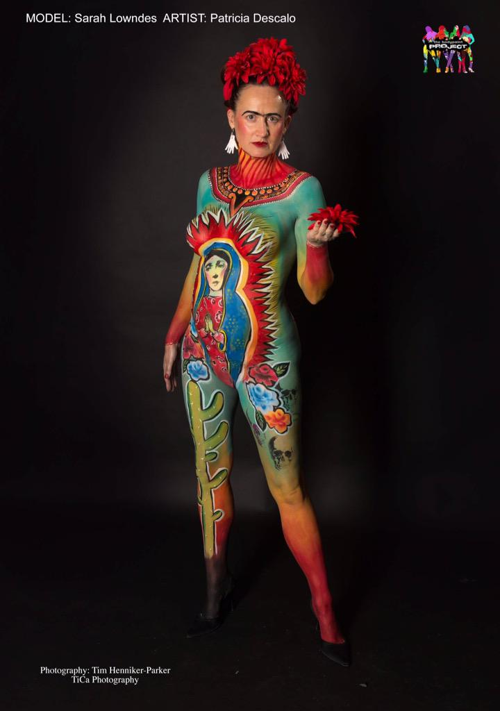 Patricia Descalco On Twitter My Painty Work From 2 Weeks Ago Representing Mexico Art Bodypaint Bodypainting Bodyart Mexico Frida Makeup Http T Co Ezrkxgprdh
