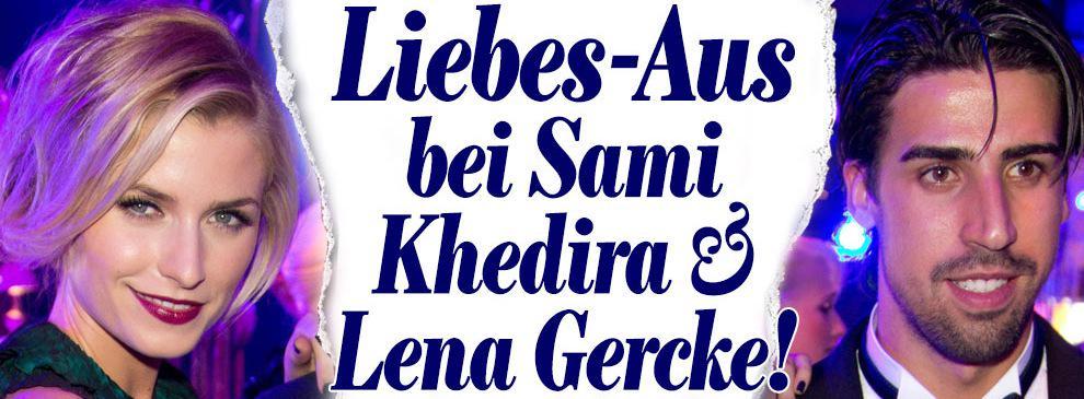Lena Gercke Sami Khedira Liebes Lena Gercke Sami Khedira