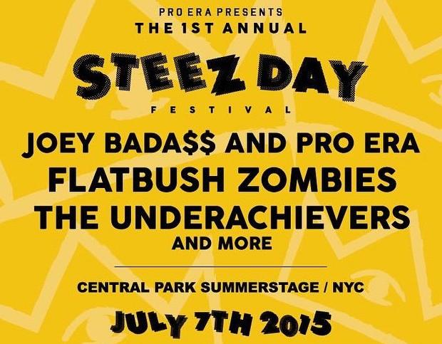 We're pumped for tonight's #SoldOut Steez Day Festival feat. @joeyBADASS, @PROERA + more! #CentralPark #SummerStage30 http://t.co/AKmc3vEwkt
