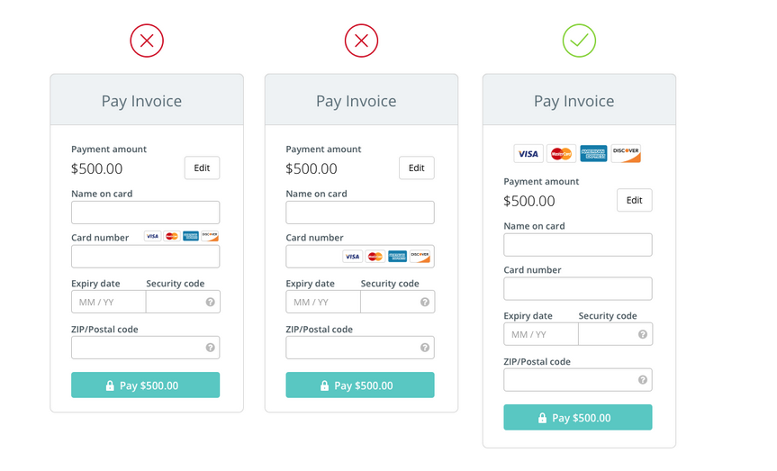 bootstrap credit card html form