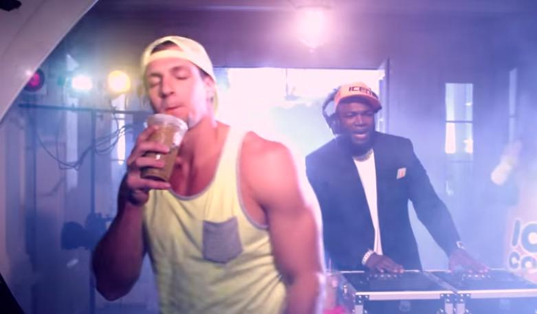 Video: the latest dunkin donuts music video by gronk & big