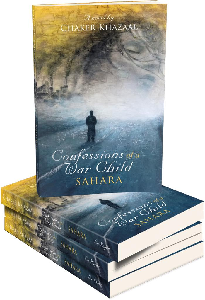 Pick Up your copies of @ChakerKhazaal #ConfessionsOfAWarChild trilogy: http://t.co/HofM3lQNxO Beautifully written! <3 http://t.co/b49TgE20zl