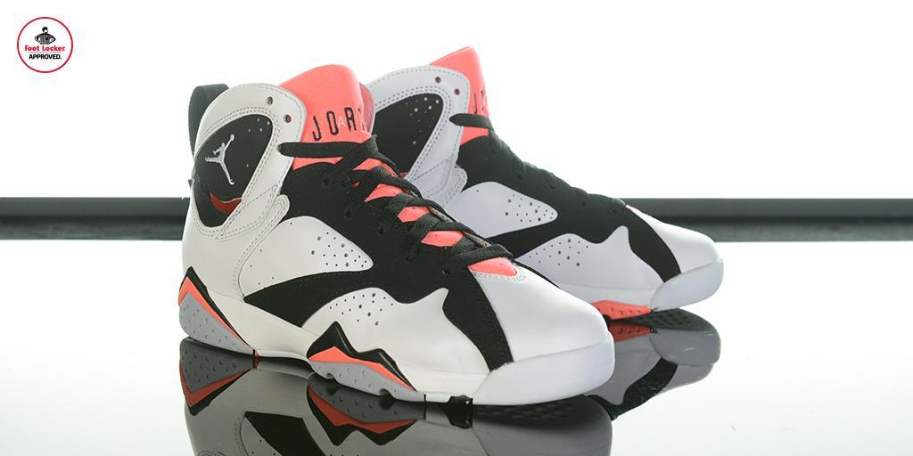 Air Jordan 7 Gs Lave Chaude Footlocker Noir