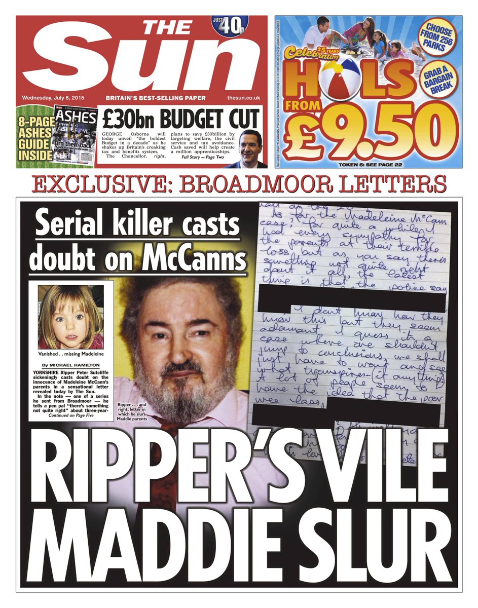 Tabloid Rags: Various inane stories - Page 6 CJV0G2OUYAEeE1W