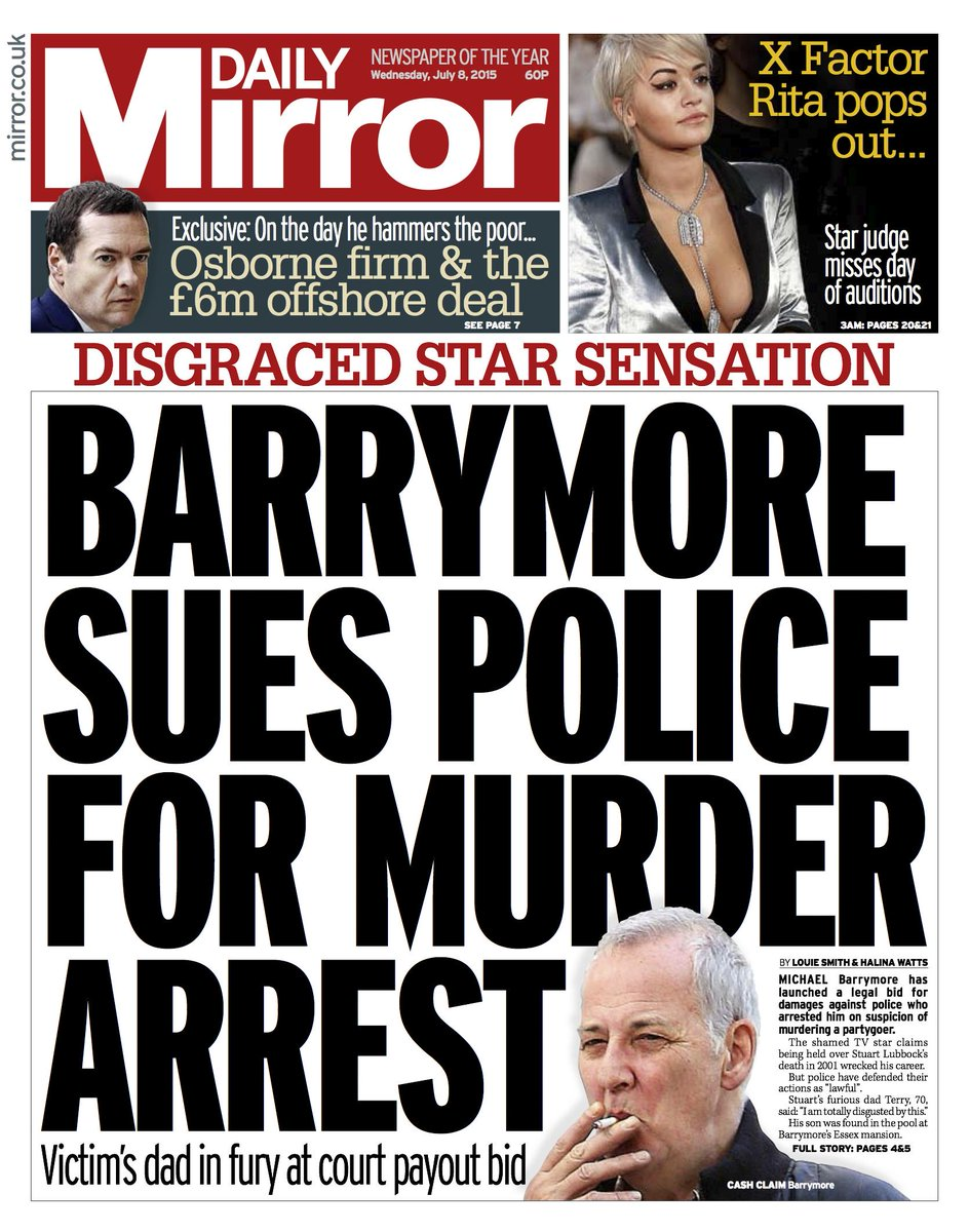 The Michael Barrymore / Stuart Lubbock case CJV1WUXUEAAbNcx