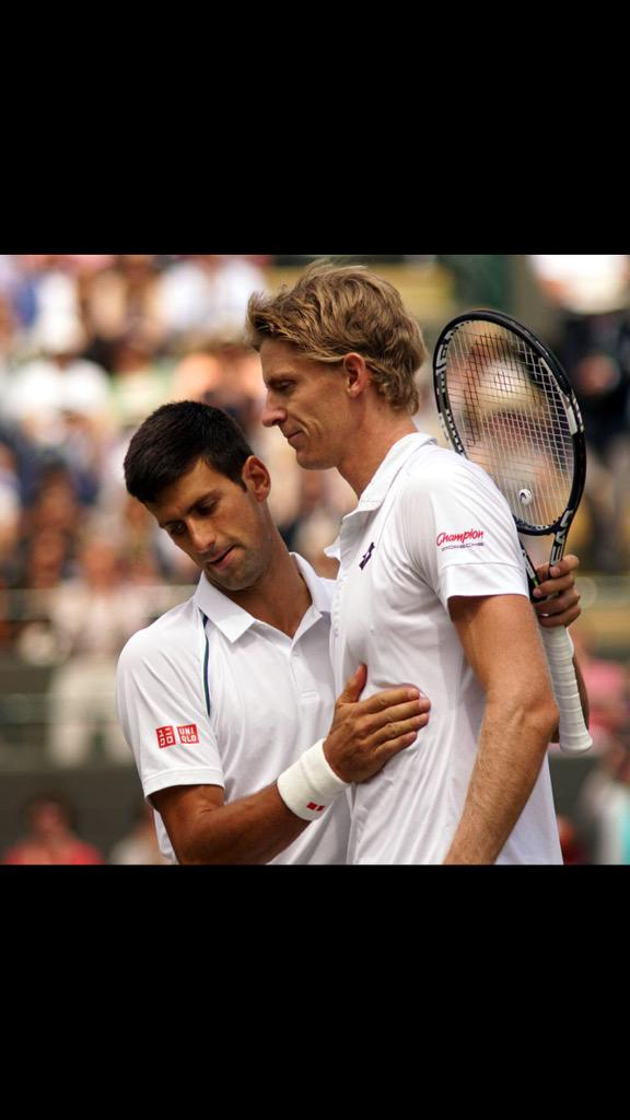 One of the toughest matches I've played, congrats to @djokernole. Thank you everyone for the support. @Wimbledon http://t.co/DKmcTeF7Vl