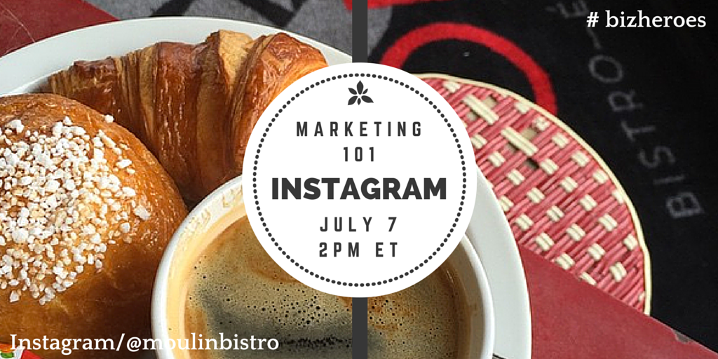 Heading into #bizheroes with one awesome community! We're talking #Instagram #instafun ...#instayum?! @moulinbistro http://t.co/83FW6ON6Pb