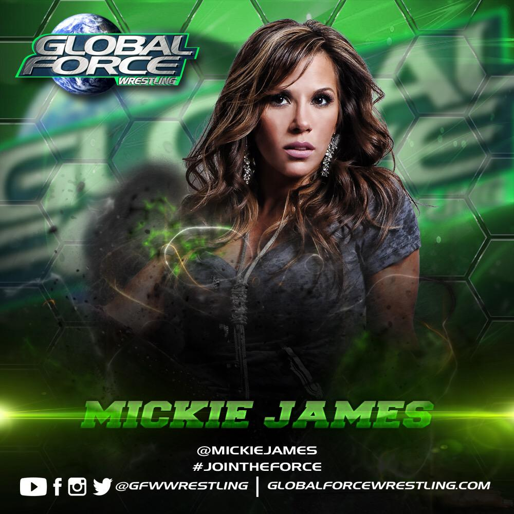 July 24 #GFWVegas the GFW Women's Championship tournament kicks off & @MickieJames has her sights set another title! http://t.co/svAlWNOmx8