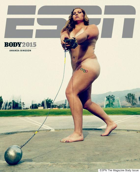 Nude pictures of female athletes