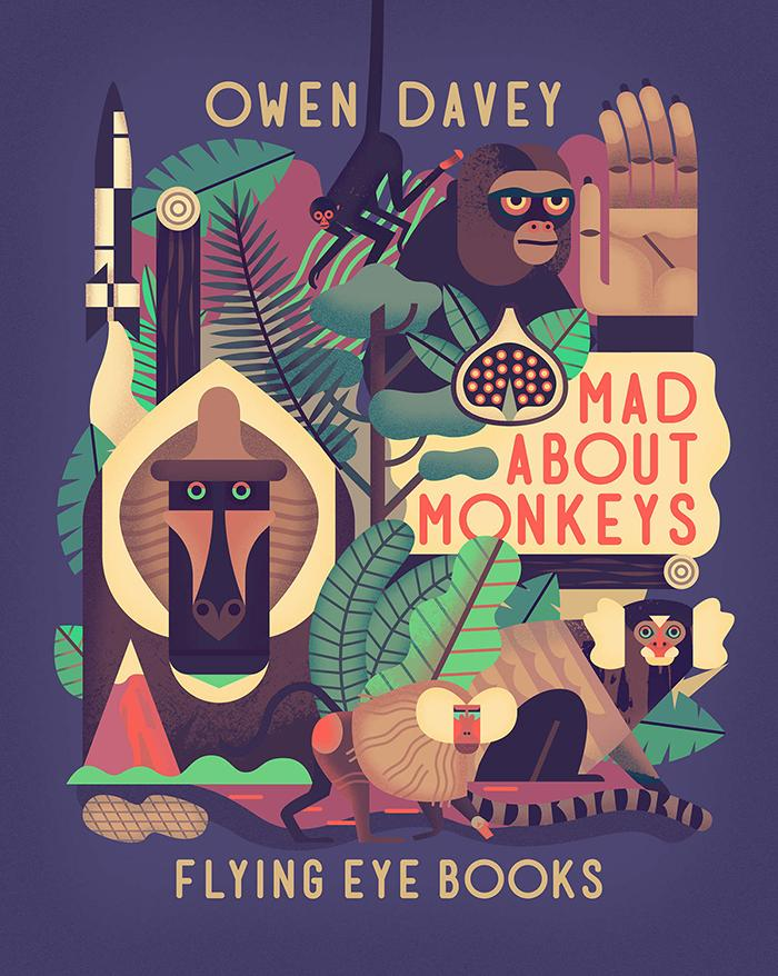 Illustrator and author @owendaveydraws discusses his latest @nobrowpress collab http://t.co/aBQu3tPCE8 http://t.co/UkC19oMqkz #monkeys