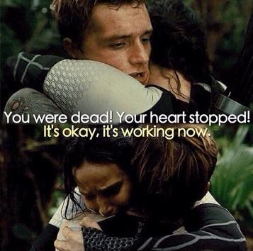 """katniss and peeta as star crossed lovers from the hunger games The hunger games study guide  who wanted to stage a final epic showdown between """"the star-crossed lovers of district 12"""" once katniss and peeta have."""