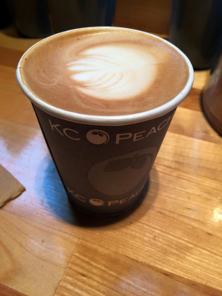 Just a blob, but it's still coffee! #coffeeventures http://t.co/zKkDTGlHwS