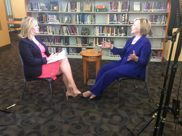 Tune into @brikeilarcnn's wide-ranging interview with @HillaryClinton at 5p on the Situation Room http://t.co/RjcKfXsXj4