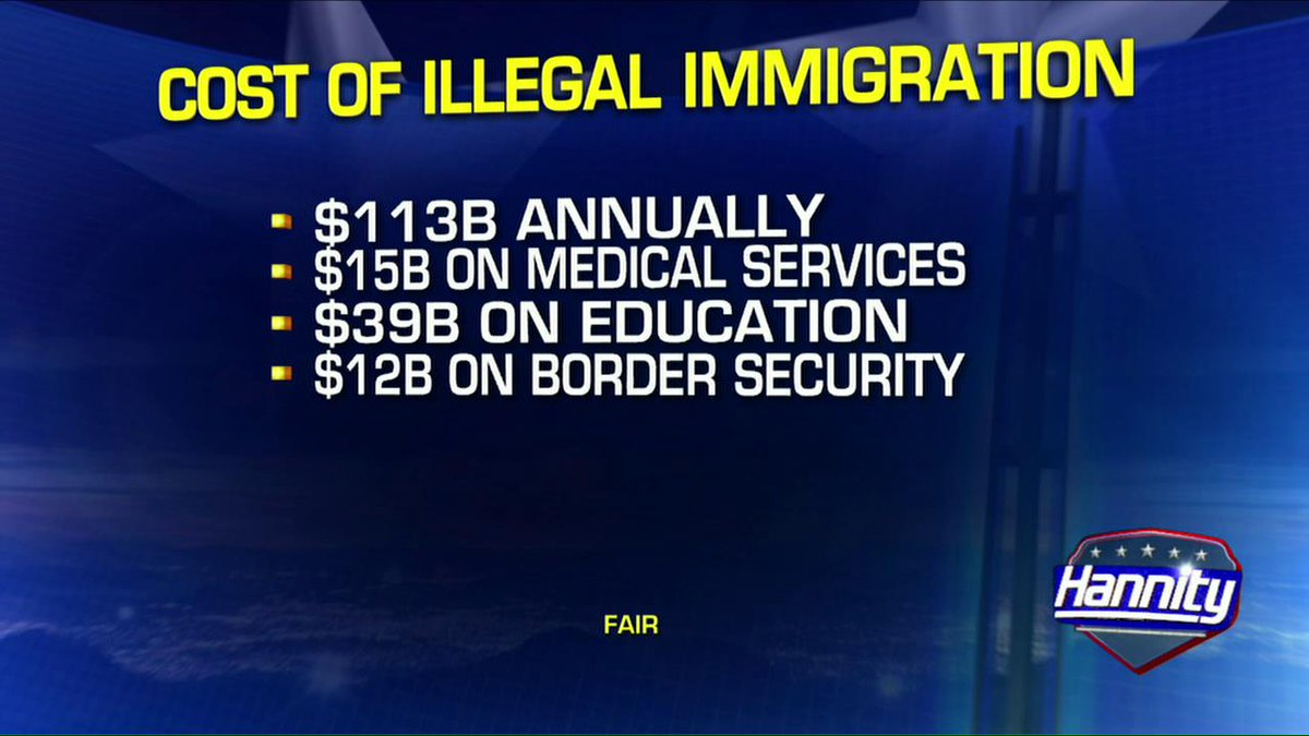 cost of illegal immigration Illegal immigration costs the american taxpayers $1349 billion annually according to detailed analysis of federal, state and local programs that includes education, medical care, law enforcement and welfare.