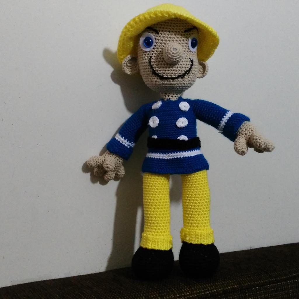 Fireman Sam crochet | Háčkovanie, Háčkované hračky, Voľné ... | 1024x1024