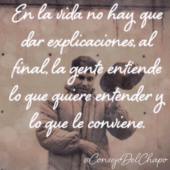 Chapo Guzman - Colección de Frases, Citas y Pensamientos
