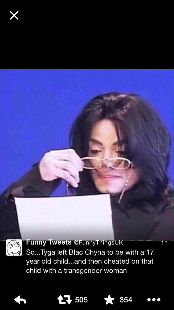 Social media has no chill. These Tyga tweets are killing me