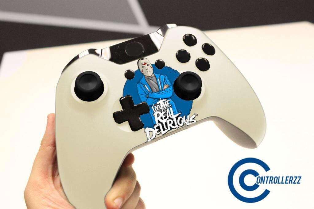 """Custom Controllerzz on Twitter: """"First concept for ... H2o Delirious Controller"""