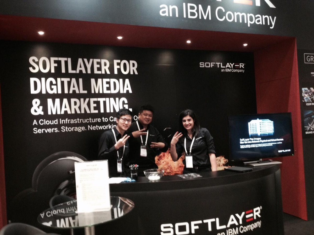The team @softlayer at @adtechasean! #adtechasean http://t.co/UGRepNy3yU