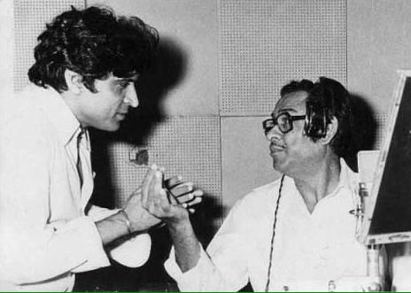 A moment I cherish - with Kishore Da at recording of Yash Johars Duniya http://t.co/GeFYqxUVwY