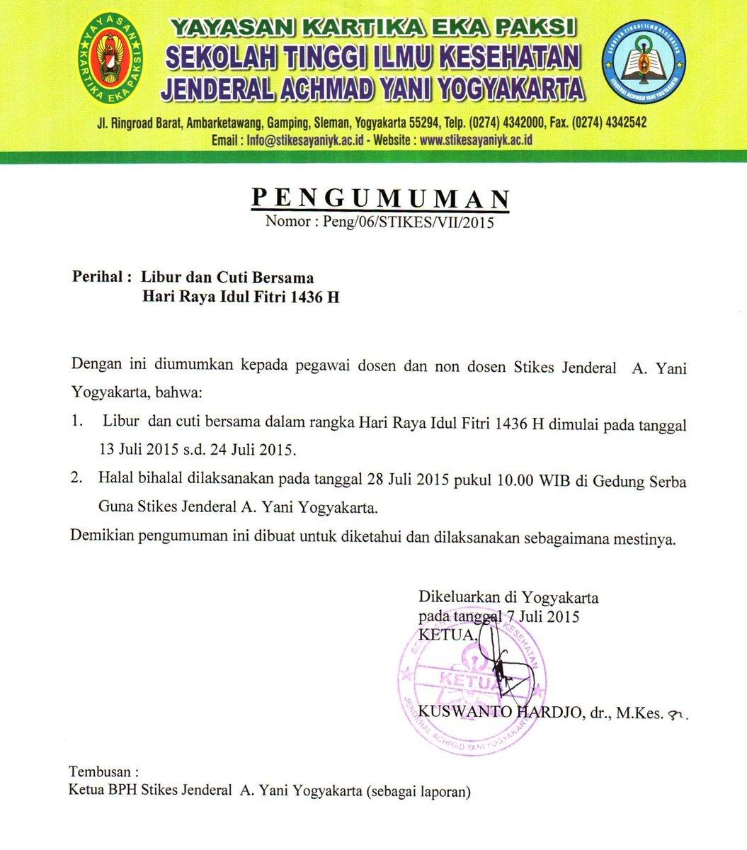 Unjani Yogyakarta on Twitter: