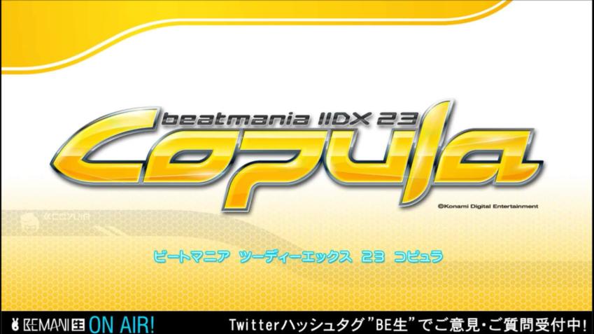 最新作beatmania IIDX 23 Copula #BE生 http://t.co/NMtfG7cKex