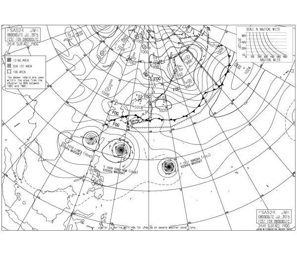 明日、明後日と高気圧の位置は、微妙に南下でほとんど動きなし浅間山に動きあるかしら? http://t.co/bFbRGTOm6F