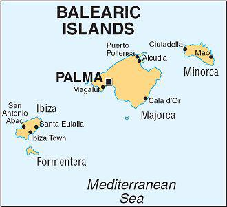 Lydia Bartlett on Twitter MAJORca and MINORca aka Mallorca and