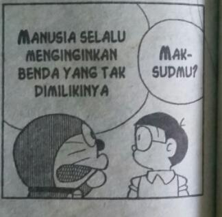 Belajarlah utk ikhlas apabila benda-benda yg kita miliki dicuri orang lain, karna itu hal yg wajar. @DoraemonHariIni http://t.co/nTJzTR0aw4