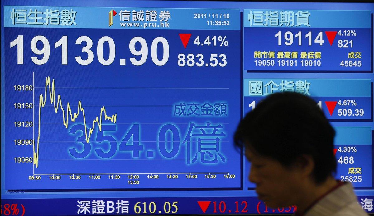 Cina: è crisi, mercati finanziari a picco