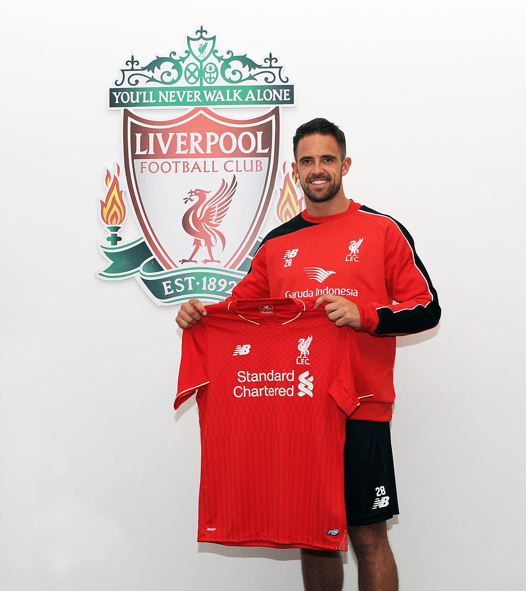 "Liverpool Signings Of Summers Past: Liverpool FC On Twitter: ""PHOTO: Summer Signing @IngsDanny"