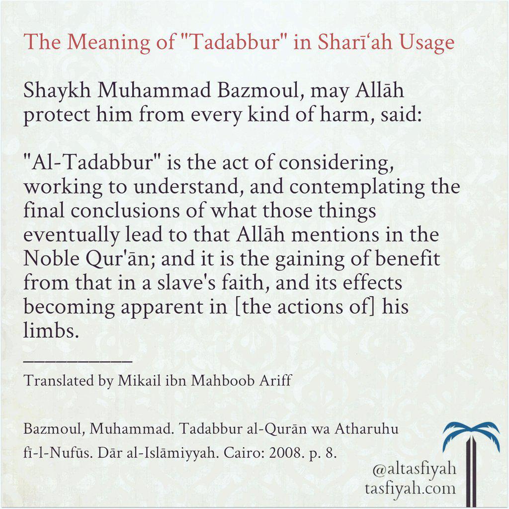 Tasfiyah a Twitter: