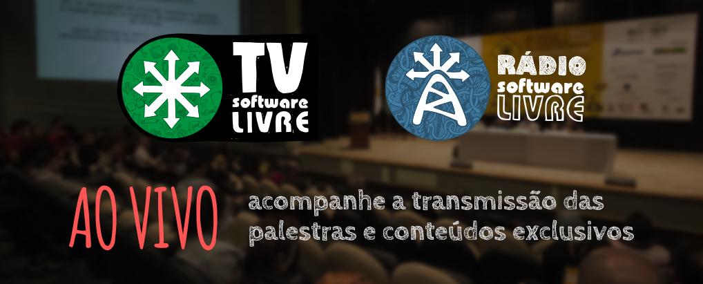 Acompanhe AO VIVO as atividades do #FISL16 pela #TVSoftwareLivre. Já estamos no ar! ;) >> http://t.co/PNoWCjydol http://t.co/9VKH8Unwjz