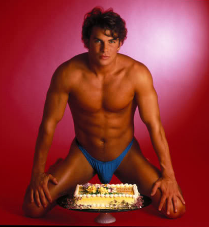 Happy birthday with sexy men