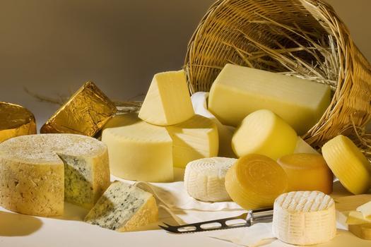 Exploit di formaggi italiani all'estero