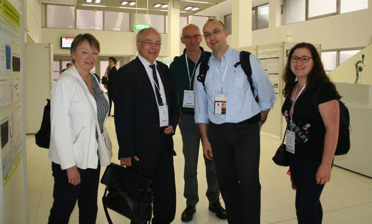 #ICAR2015, François Houiller INRA CEO, @FHoullier at ICAR ;-)! F. Vedele, F. Houllier, JF Briat, LL, and MJ Sellier http://t.co/sLG3SLZknX