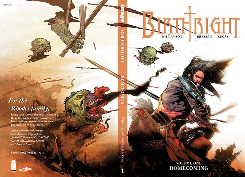 Birthright Volume 1 Hardcover Image Skybound Joshua Williamson Image comics