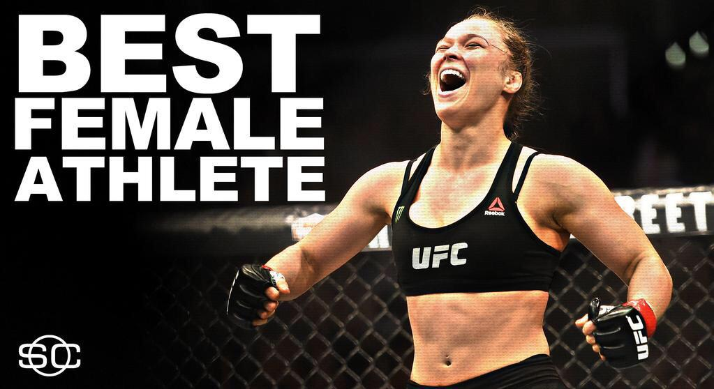 WOW!!! Congrats Ronda with 2 ESPY's!!!!