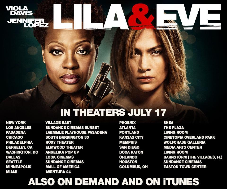Pelicula >> 'Lila & EVE' CJ_APqwUAAE4x6_