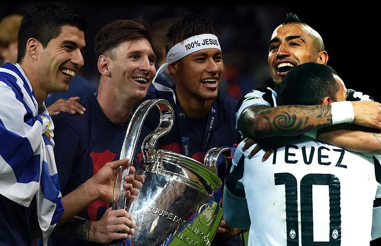 Vidal Pirlo Tevez Pogba e Buffon tra i migliori 10 giocatori d'Europa UEFA Best Player